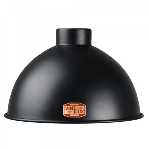 Lampenschirm Dome Matt Black | Vintlux
