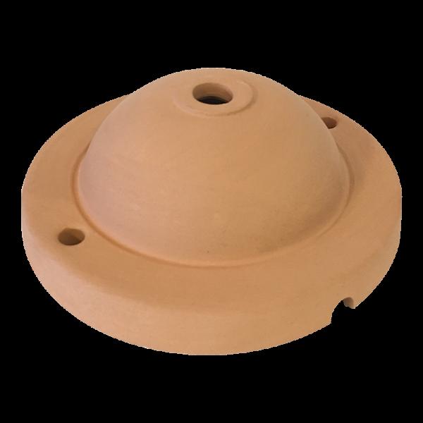 Keramik Deckenbaldachin terracotta