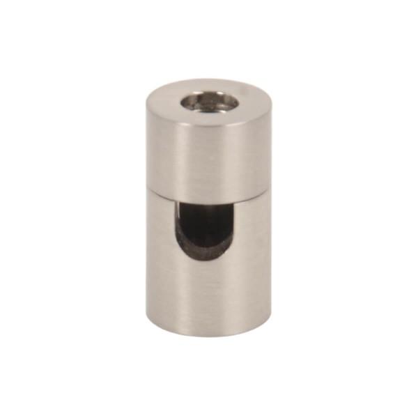 Kabelhalter Zylinder Nickel