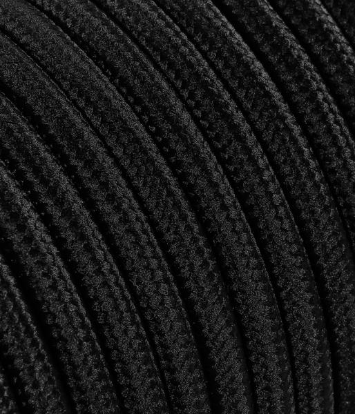 Textilkabel schwarz TO62, 2 x 0,75mm²