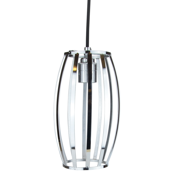 Pendelleuchte Cage Barrel Chrome