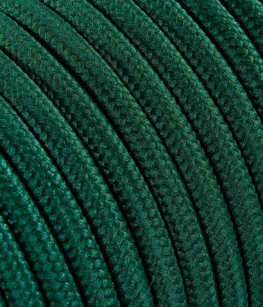 Textilkabel petrol TO76, 3 x 0,75mm²