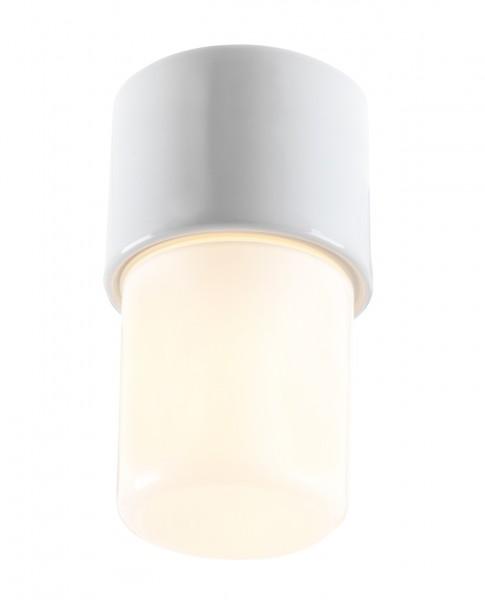Leuchte Light On opal weiss