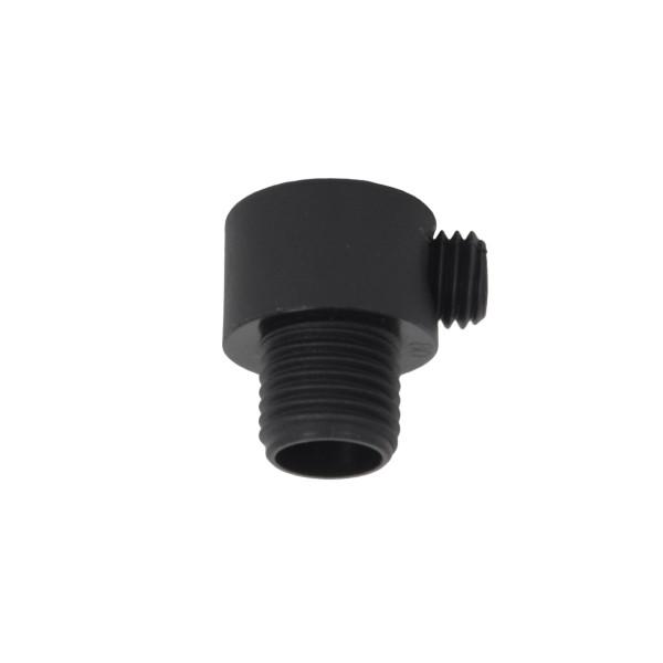 Zugentlaster Kunststoff schwarz