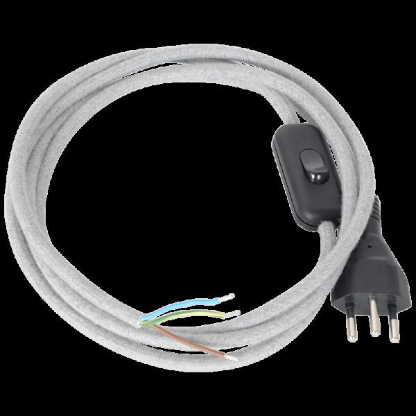 Anschlusskabel mit Wippzwischenschalter filz