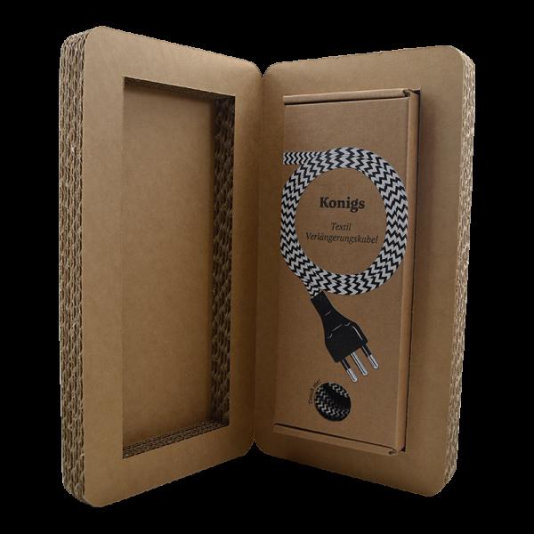 Verpackungsbox für Verlängerungskabel | Konigs Design
