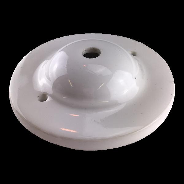 Keramik Deckenbaldachin weiss