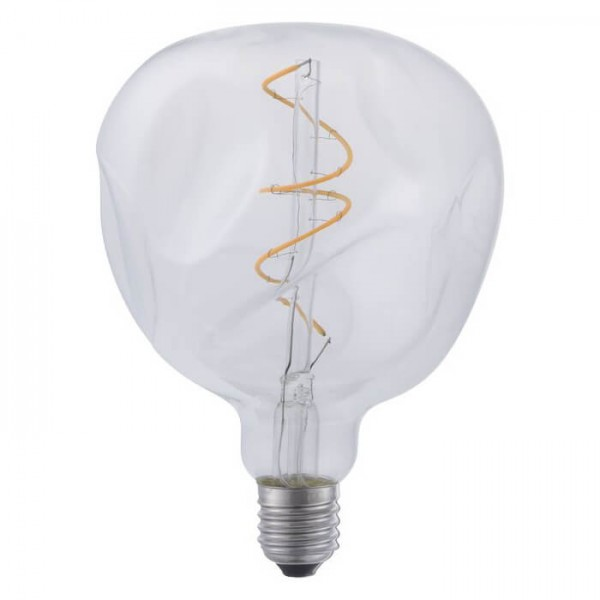 LED G125 Filament Flex Mystery klar 4W 190lm E27 | Schiefer Lighting