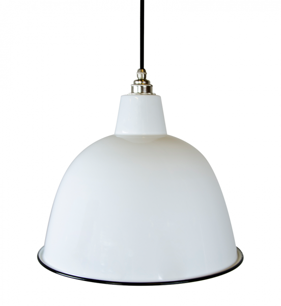 Emaille XL Dome - White
