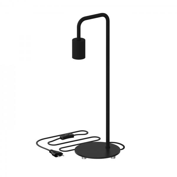 Tischlampe U-Line in schwarz von Calex