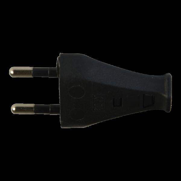2-poliger Stecker T26 schwarz