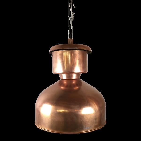 "Industrielampe XL ""Mushroom"" verkupfert"