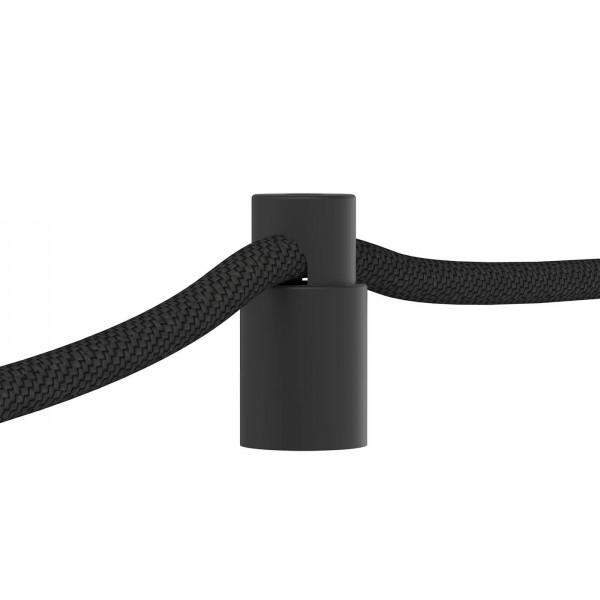 Kabelhalter Aluminium von Calex in schwarz
