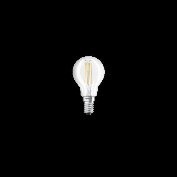 LED Leuchtmittel RL-D 6.5W 2700k E14 klar 806lm