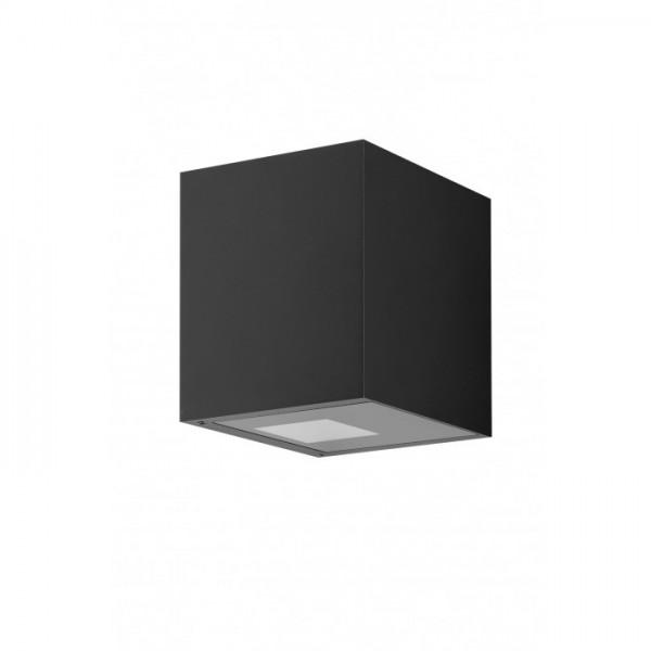 Aussenwandlampe Arca W150 XL schwarz von Antidark