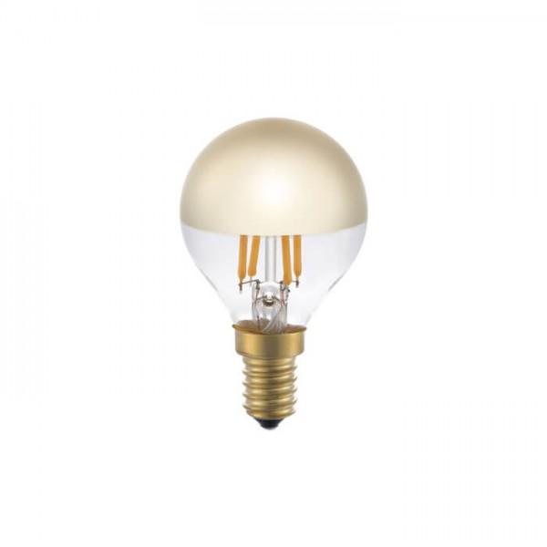 LED Ball Spiegelkopf gold 4W 250lm E14 | Schiefer Lighting