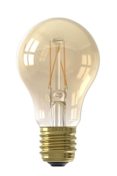 LED Full Glass Filament A60 Gold 6.5W E27 | Calex