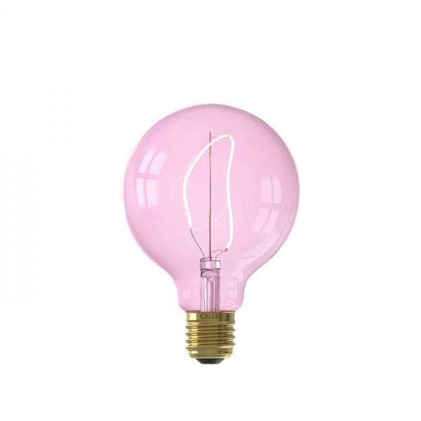 LED Nora Quartz Pink G95 4W E27