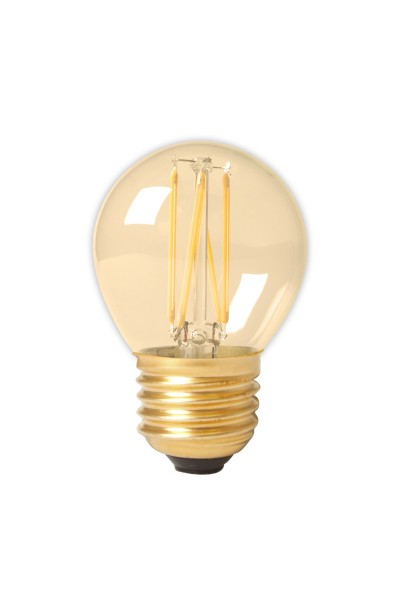 3.5W LED Filament Sphärisch gold