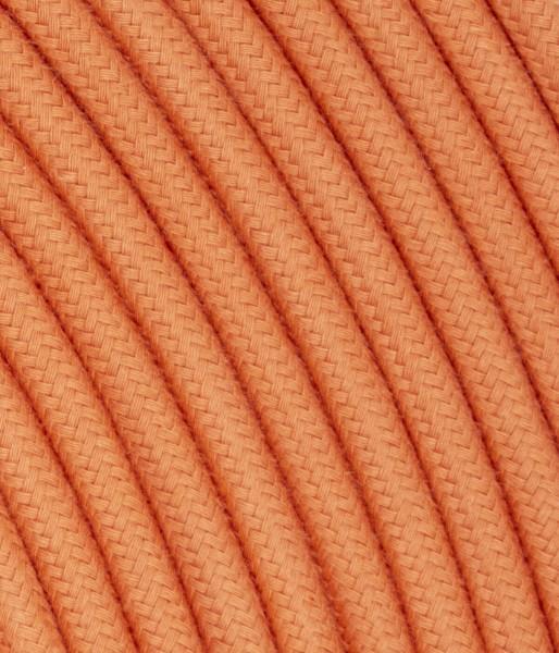 Textilkabel lachs TO440, 3 x 0,75mm²