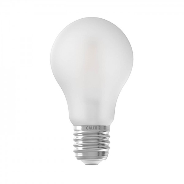 LED Full Glass Filament A60 Frosted 6.5W E27 | Calex