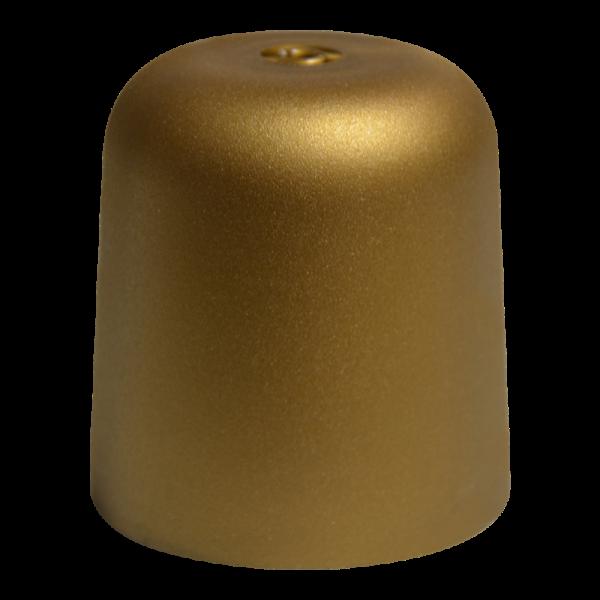"""Kunststoff-Baldachin """"zylindrisch"""" Gold"""