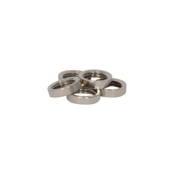 M10 Ring Nickel, 5 Stk.