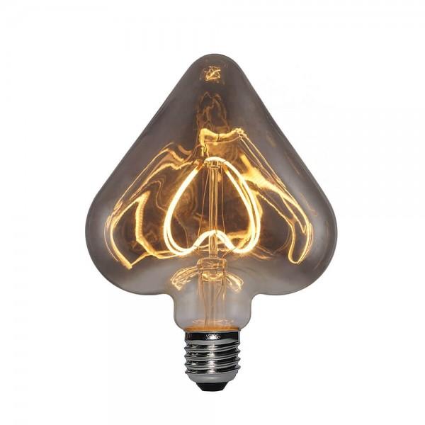 LED Leuchtmittel Herz Titannium