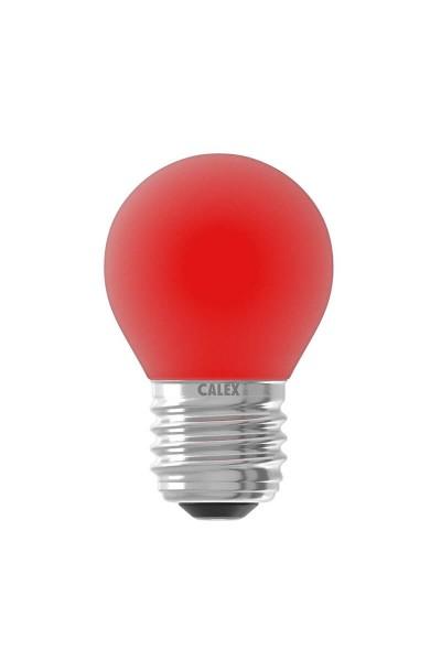 LED Filament Ball Lamp rot 1W E27 | Calex