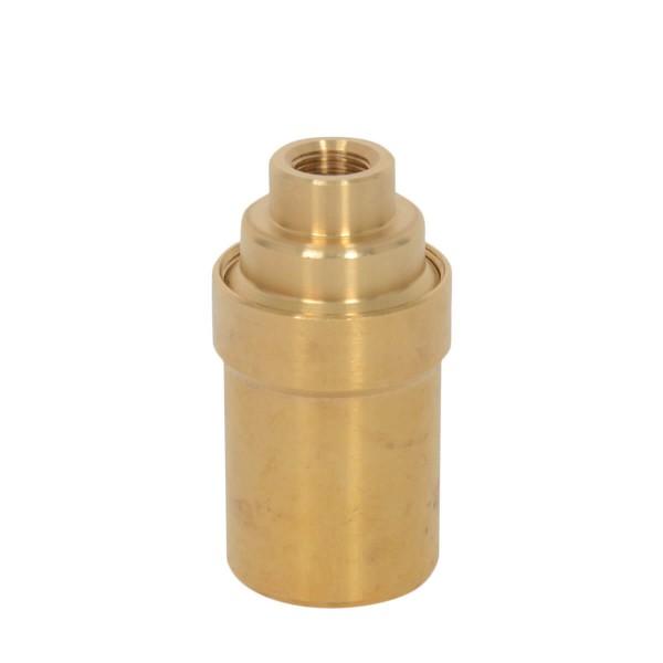 Retro Fassung E14 mit M10-Gewinde Brass