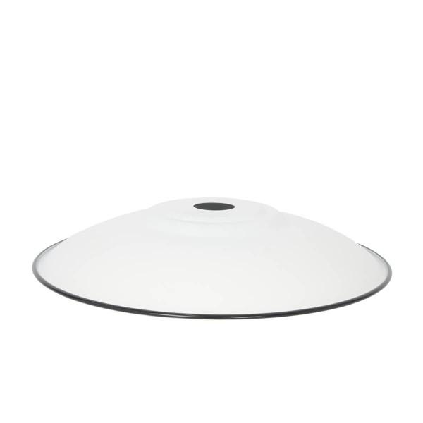 Lampenschirm Flat XL weiss matt