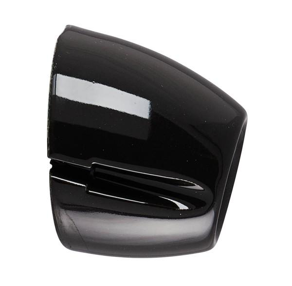 Wandfassung Basic schwarz Porzellan E27 | Ifö Electric