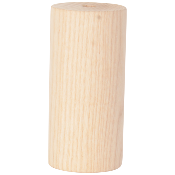 Holz Fassung-Hülse Zylinder lang E27