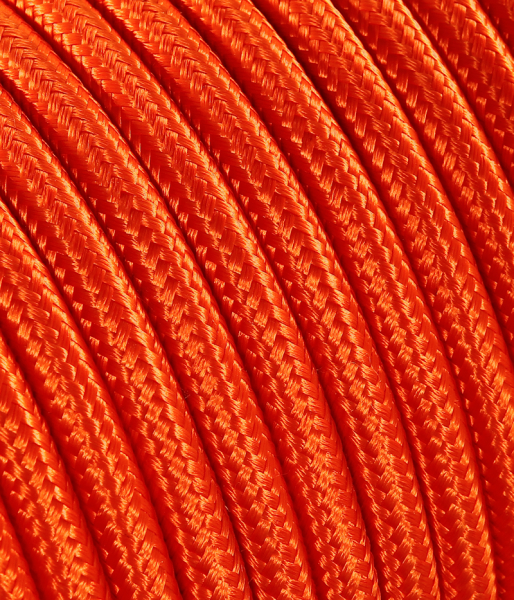Textilkabel orange TO64, 3 x 0,75mm²