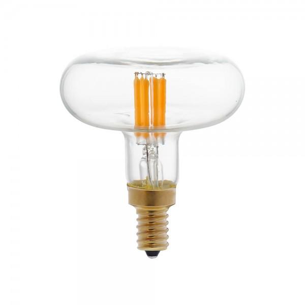 LED Leuchtmittel flach E14 klar