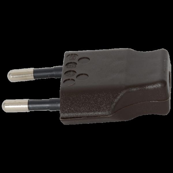 Stecker T26 2-polig braun