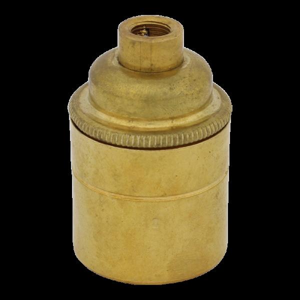 """Fassung """"Brass"""" mit M10-Gewinde E27"""