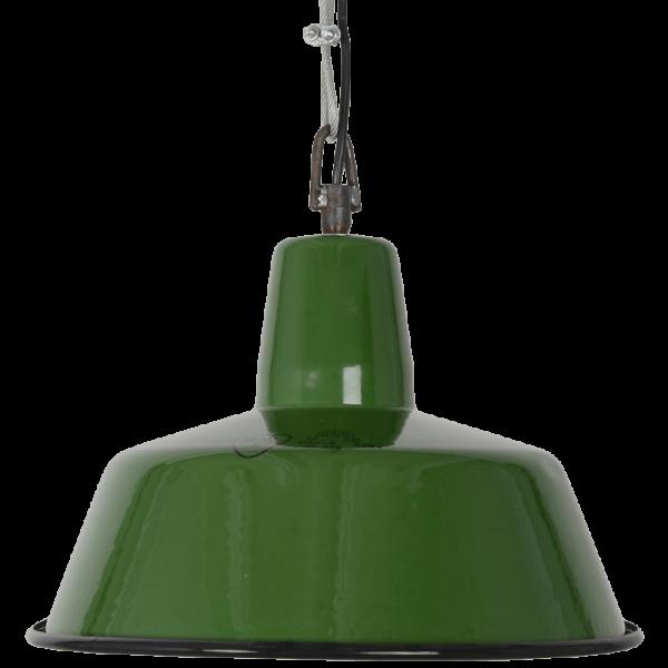 Industrielampe die kleine Grüne