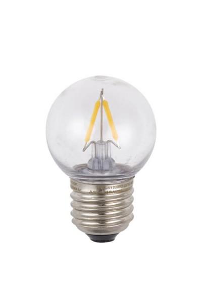 LED Ball Lamp E27 klar aus Polycarbonat