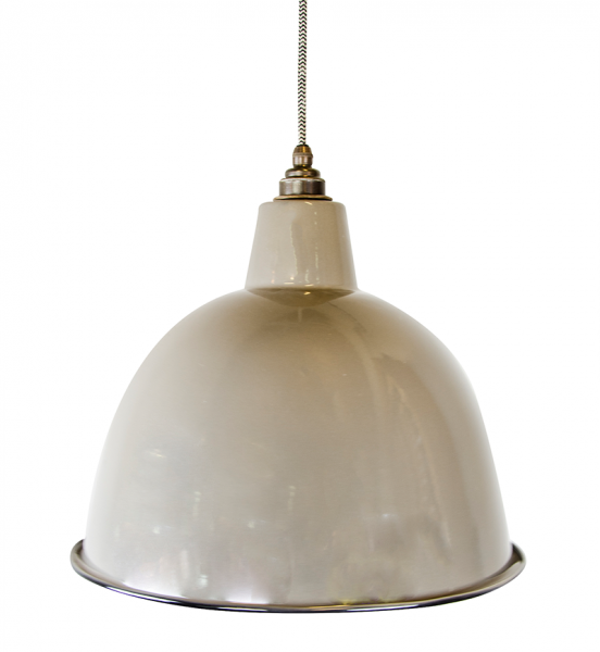 Emaille XL Dome - Taupe