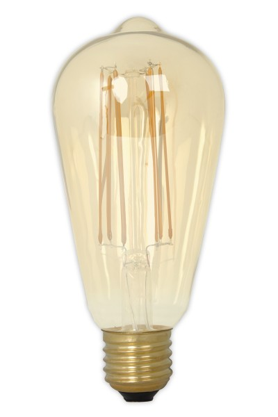 LED Filament Rustic Lamp Gold 4W E27