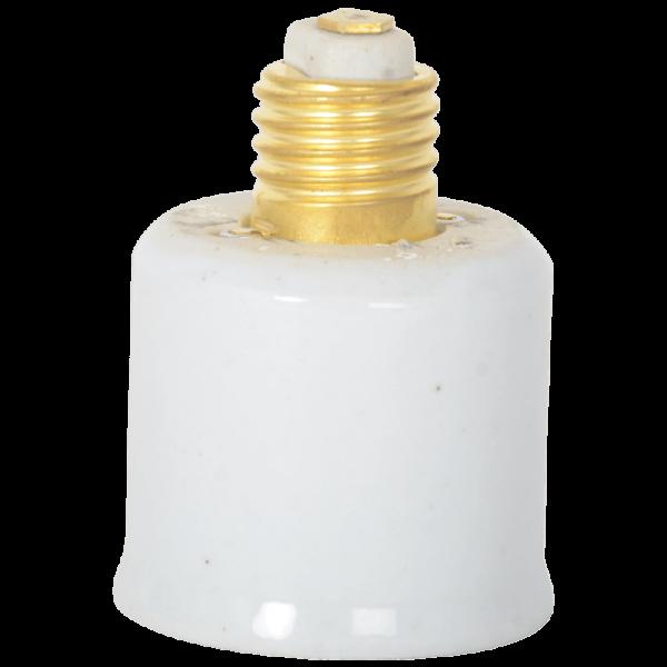 Adapter E27 / E40 Keramik weiss