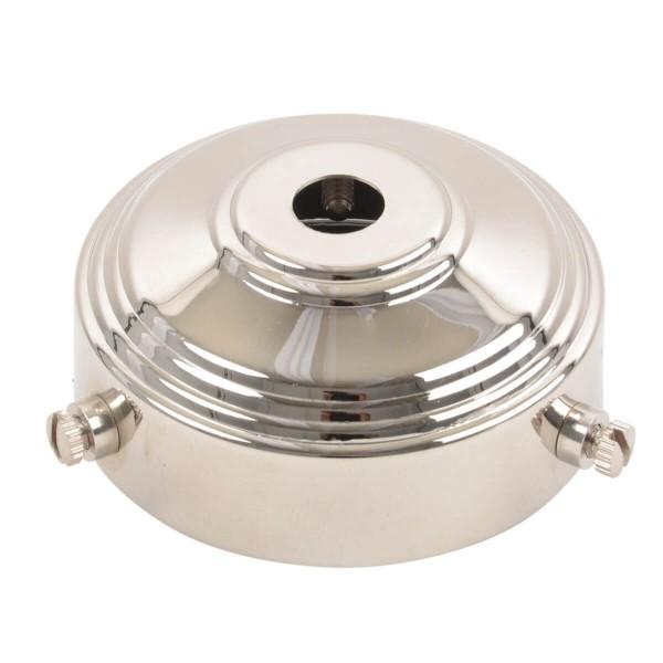 Glas- und Lampenschirmhalter Nickel