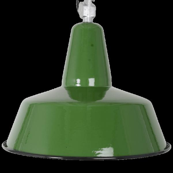 Industrielampe KWE grün gross Konigs