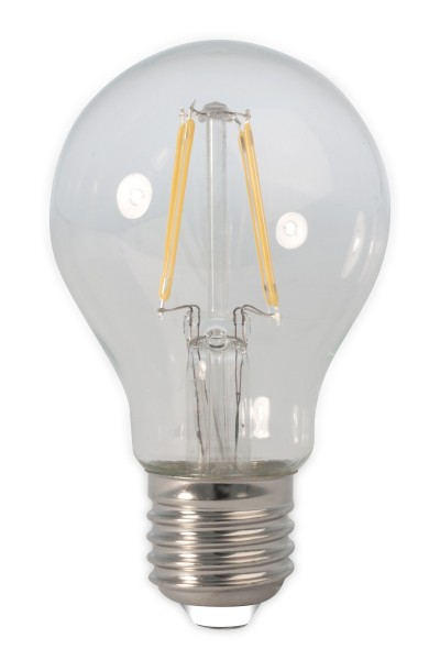LED Full Glass Filament A60 klar 7W E27 | Calex