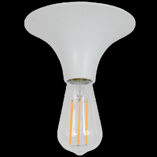 Lampensockel ETNA weiss