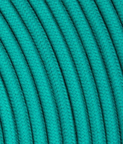 Textilkabel smaragdgrün TO429, 3 x 0,75mm²
