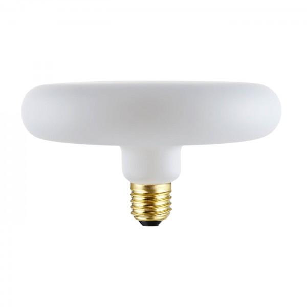 LED Leuchtmittel flach rund E27 matt