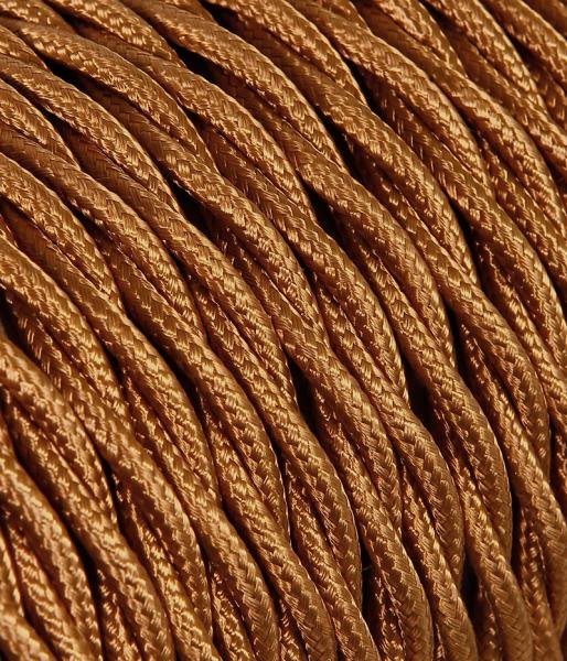 Textilkabel Whisky verdrillt TR14, 3 x 0,75mm²