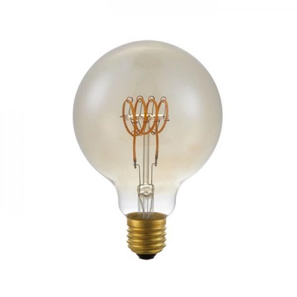 LED G95 Flex TR Gold 4.5W 140lm E27 | Schiefer Lighting